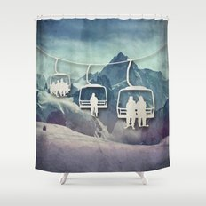 Lift Me Up Shower Curtain