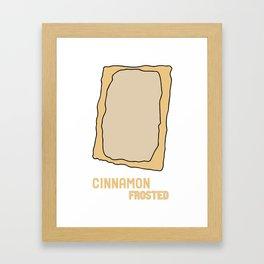 Cinnamon Frosted Popped Art Framed Art Print