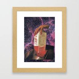 Cosmilk void Framed Art Print