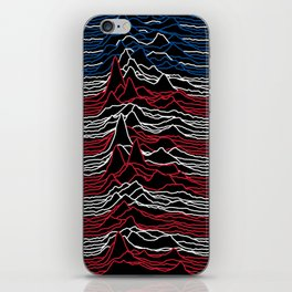 Joy Division - Unknown American Pleasures iPhone Skin