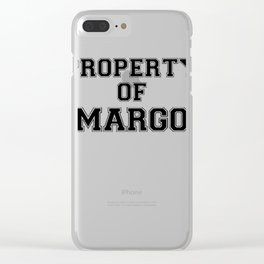 Property of MARGO Clear iPhone Case