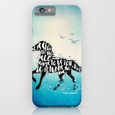 The Scorpio Races quote design Slim Case iPhone 6