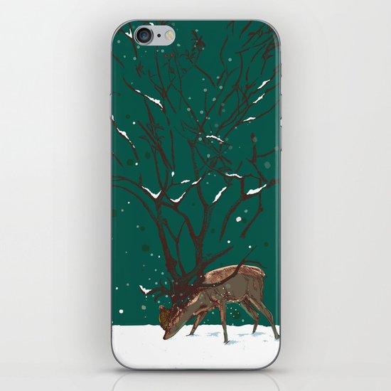 Winter Is All Over You iPhone & iPod Skin