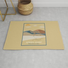 Speed Hump - Fastest Camel in Africa Rug