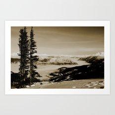 whistler, BC Art Print