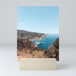 Catalina Island California Boat Launch Mini Art Print