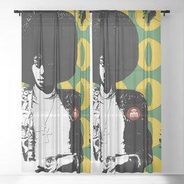 OLD SKOOL Sheer Curtain