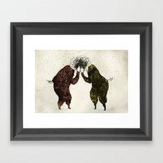 Supisupi Framed Art Print