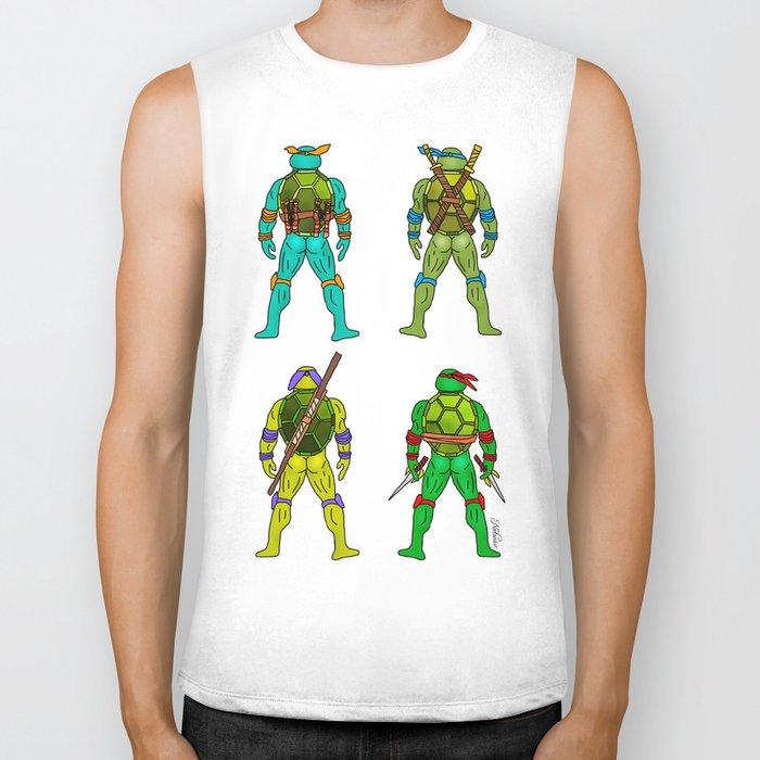 Superhero Butts - Turtles Biker Tank