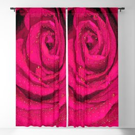 Rose Blackout Curtain