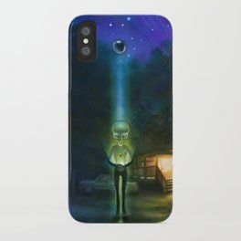 The Visitors iPhone Case