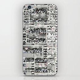 My Friend, Surveillance (P/D3 Glitch Collage Studies) iPhone Skin