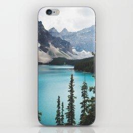 •lake moraine • iPhone Skin