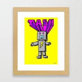 Electro Tash Number 1 Framed Art Print