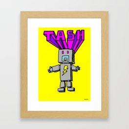 Electro Tash Number 1 Framed Art Print