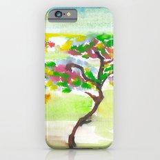 Watercolor landscape iPhone 6s Slim Case