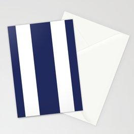 Blue Stripes Stationery Cards
