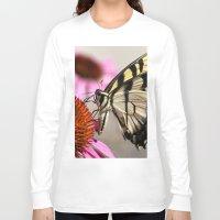 elegant Long Sleeve T-shirts featuring Elegant by IowaShots