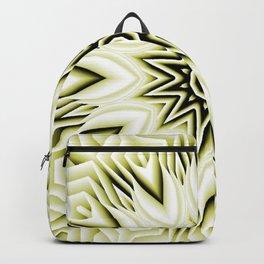 Yellow Boho Sunflower Daisy Blossoms Backpack