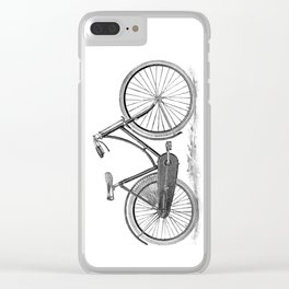 Bicycle 2 Clear iPhone Case