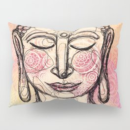 The Mindful Buddha Pillow Sham