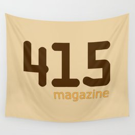415 Magazine Logo Wall Tapestry