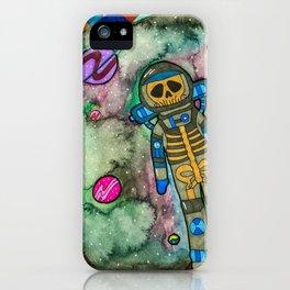 Muerte Espacial iPhone Case
