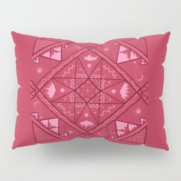 Earth, Water, Air and Fire Pillow Sham