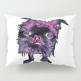 Lugga The Friendly Hairball Monster For Ghouls Pillow Sham