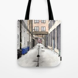 Alley in Ravenswood, Chicago Tote Bag