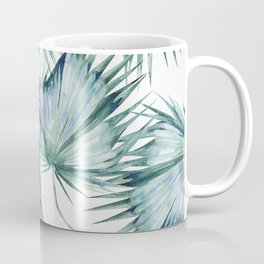 Floating Palm Leaves 2 Coffee Mug