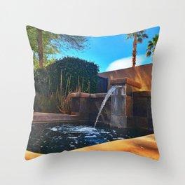 Desert Relaxation Throw Pillow
