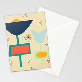 Mid Century modern #1 Stationery Cards