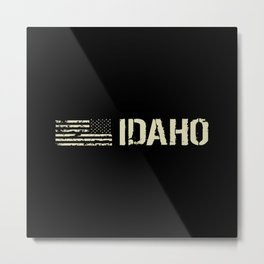 Black Flag: Idaho Metal Print
