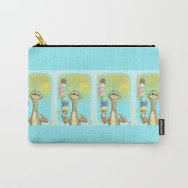 Sloth Loves Ice Cream! Carry-All Pouch