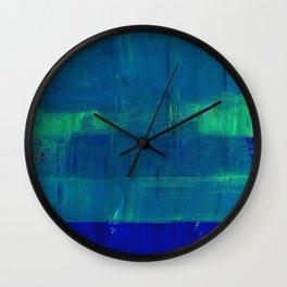 Simon Carter Painting Good Intentions Wall Clock