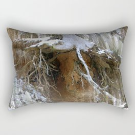 Winter in the forest.... Rectangular Pillow