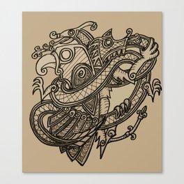 Norse animals Canvas Print