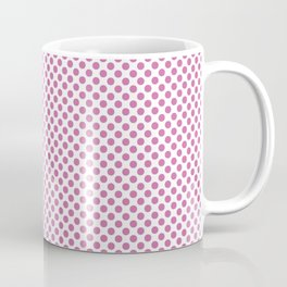 Super Pink Polka Dots Coffee Mug