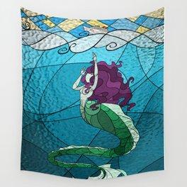 Primeval Mermaid Wall Tapestry