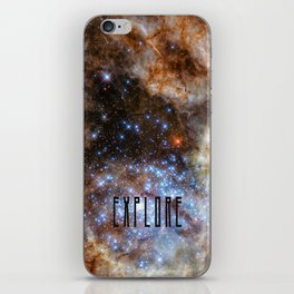 Explore - Space and the Universe iPhone Skin