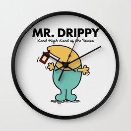 Mr Drippy Wall Clock