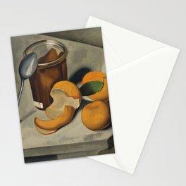 Still Life with Mandarin's in Paris portrait painting by Tamara de Lempicka Stationery Cards