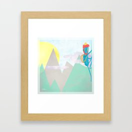ESCALADA 01 Framed Art Print
