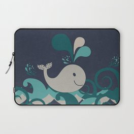 A Whale Of A Time Laptop Sleeve
