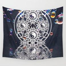 Yin Yang Symmetry Balance Reflection Wall Tapestry