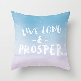 Star Trek (Light) Throw Pillow