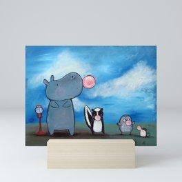 Bubblegum Mini Art Print
