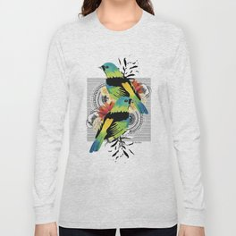 Green-headed Tanager Long Sleeve T-shirt