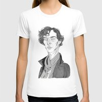 cumberbatch T-shirts featuring Benedict Cumberbatch - Sherlock by Andy Christofi